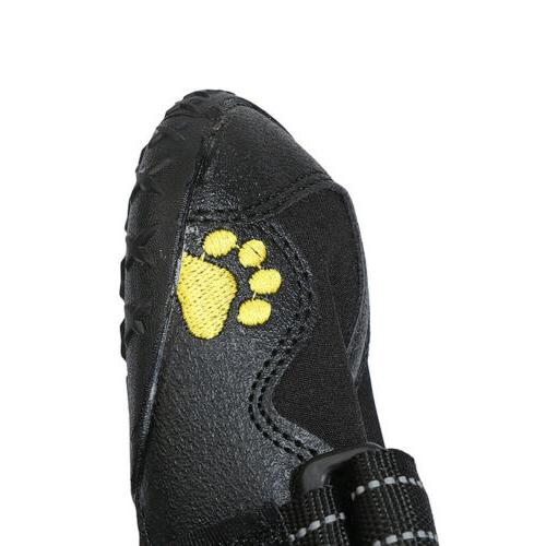4pcs Pet Shoes for Medium Large Paw