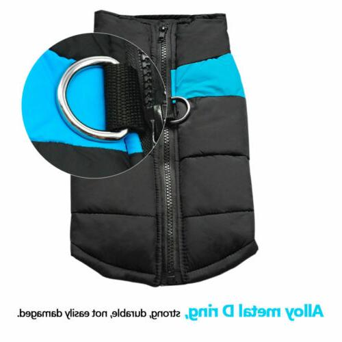 5XL Size Padded Dog Clothes Waterproof Pet for Dog