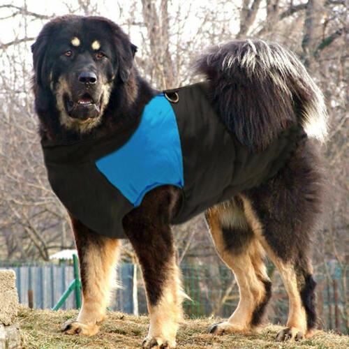 5XL Padded Dog Clothes Pet Coats Vest for