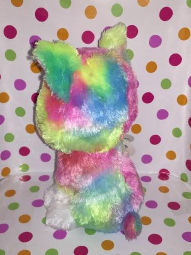 "6"" Reg Ty Beanie Isla Dog Claire's Exclusive"