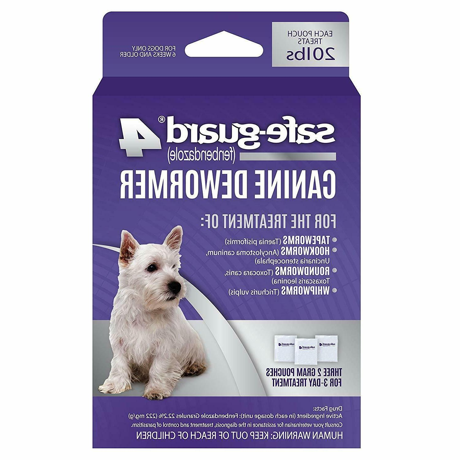 Excel Safe-Guard Dewormer for M/ Dog 3-Day Treatment