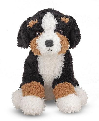 Melissa & Doug Barkley Bernese Mountain Dog Stuffed Animal