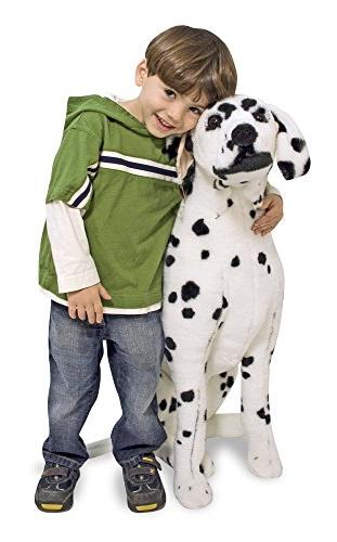 Melissa & Doug Giant Dalmatian - Lifelike Stuffed Animal Dog