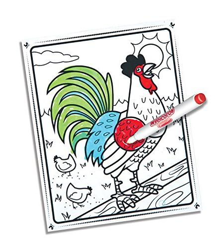 Melissa Doug the Go Coloring Pad: 18 Pages,