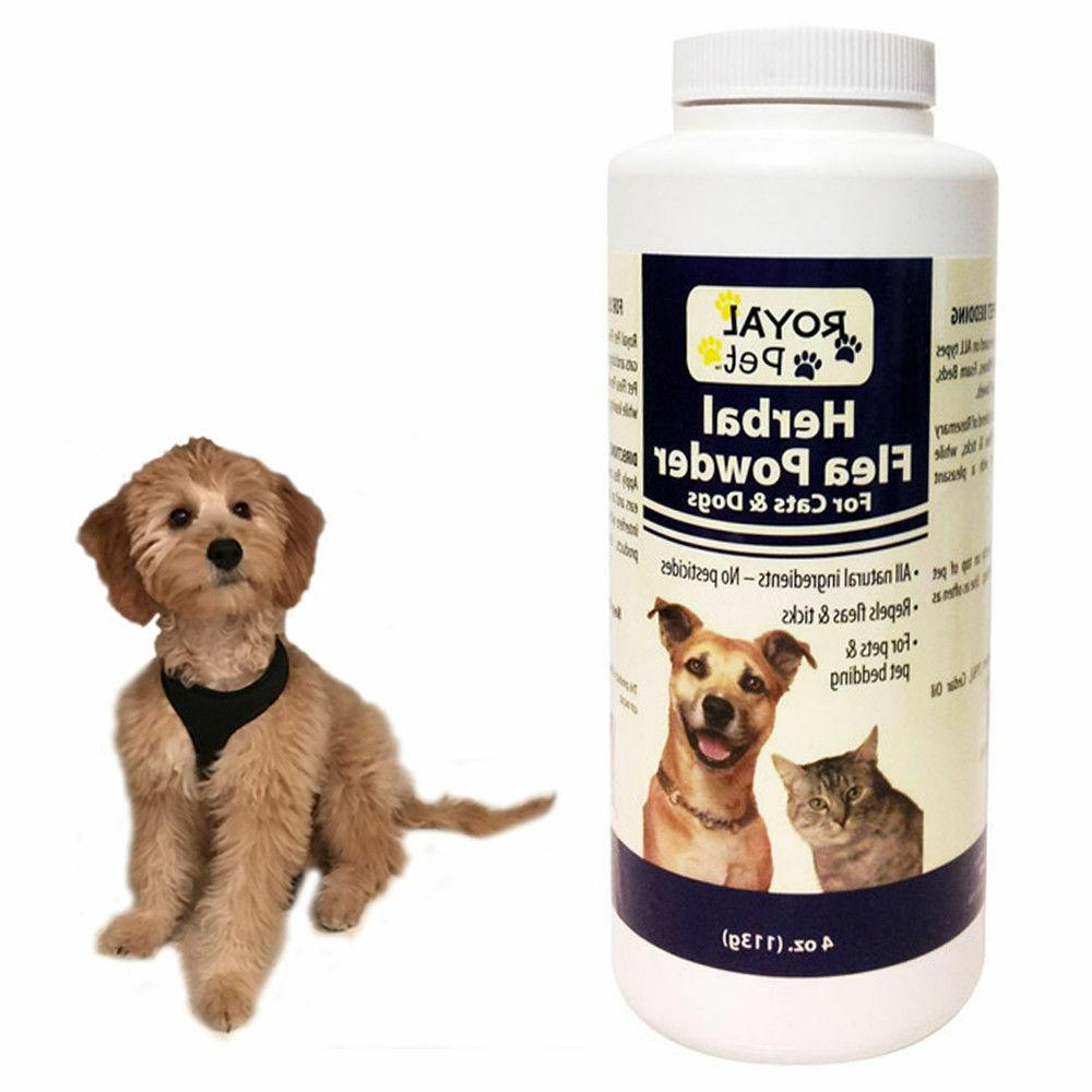 ROYAL PET Herbal Powder Cats All Natural Pesticides 4