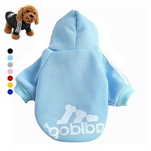 Warm For Dog Soft Hoodie Winter Apparel Costumes
