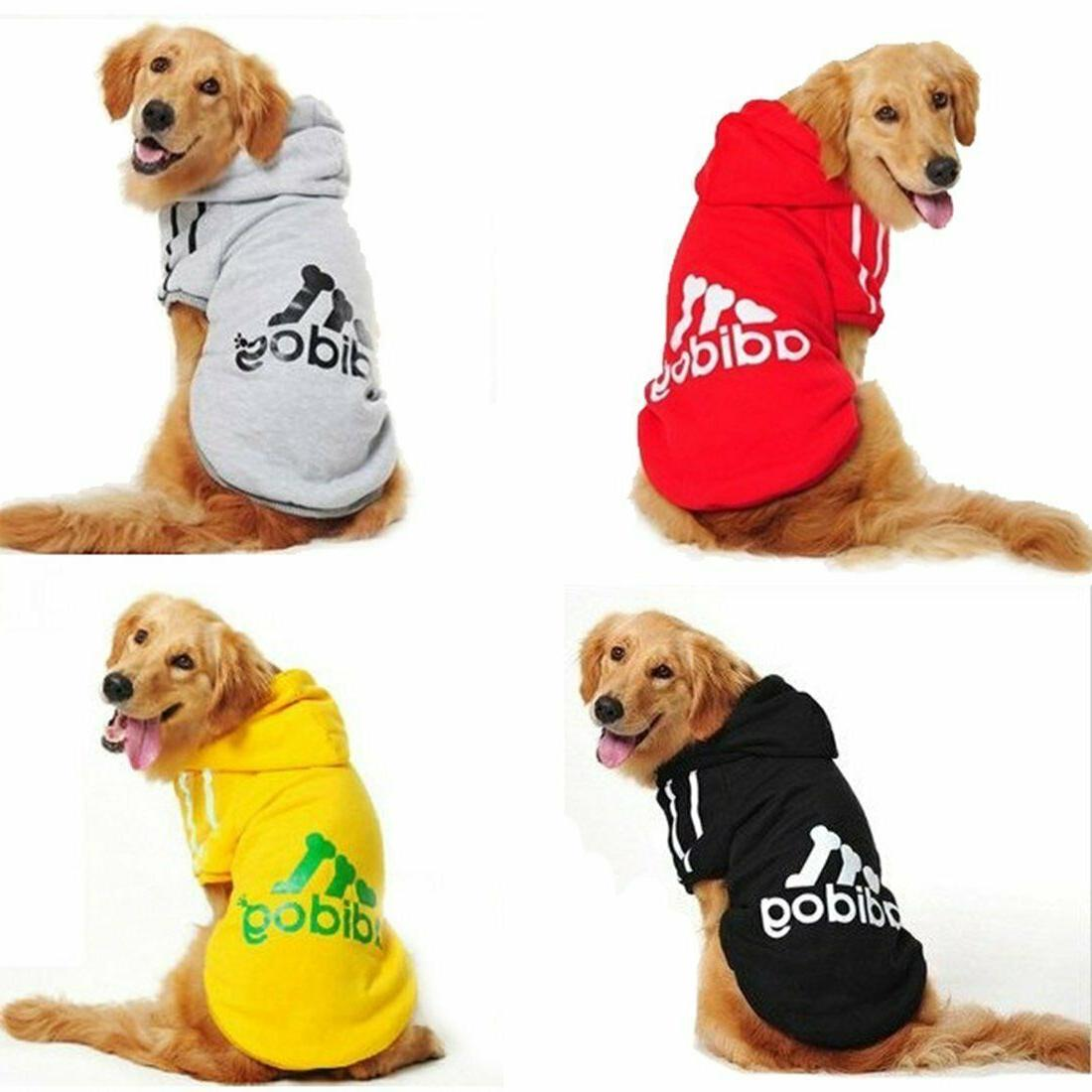 Adidog Clothes Dog Sweater