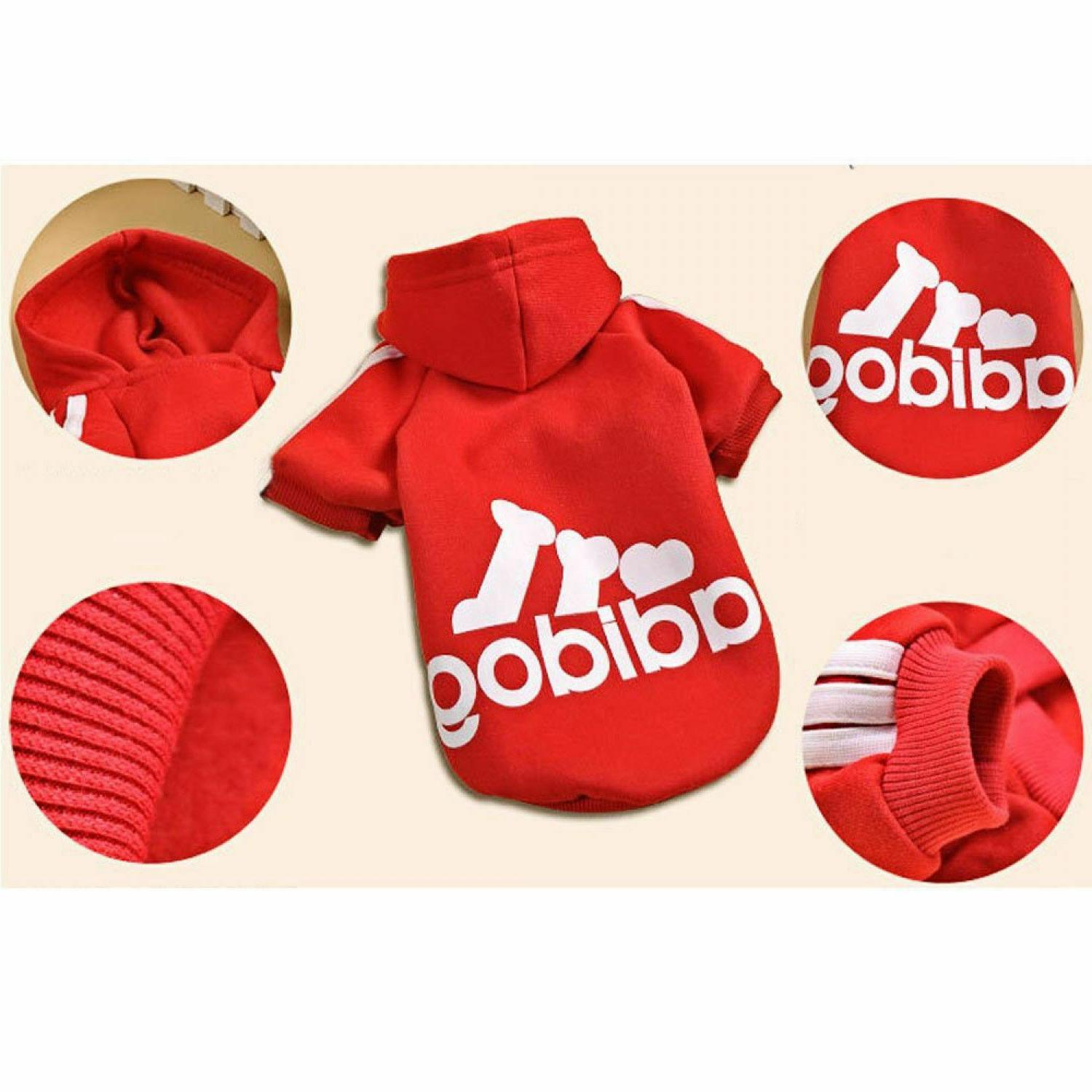 Adidog Clothes Dog Cat Sweater