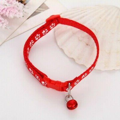 Adjustable Pet Printed Necklace Bell