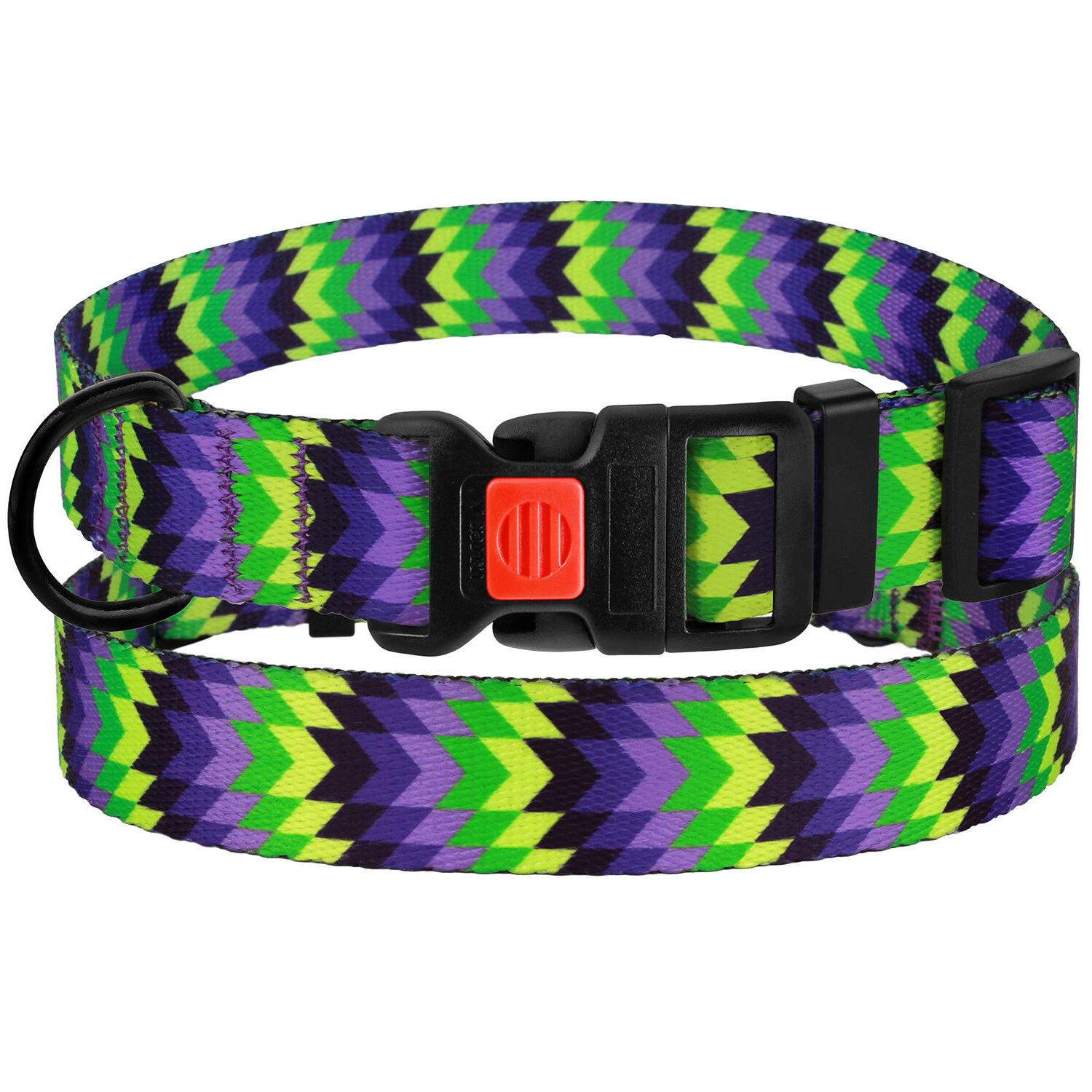 Adjustable Buckle Collars Dogs L XL