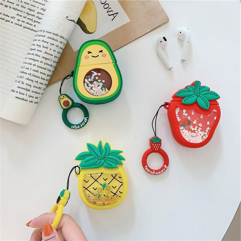 AirPods Cute Food Cartoon Cover for 1/2