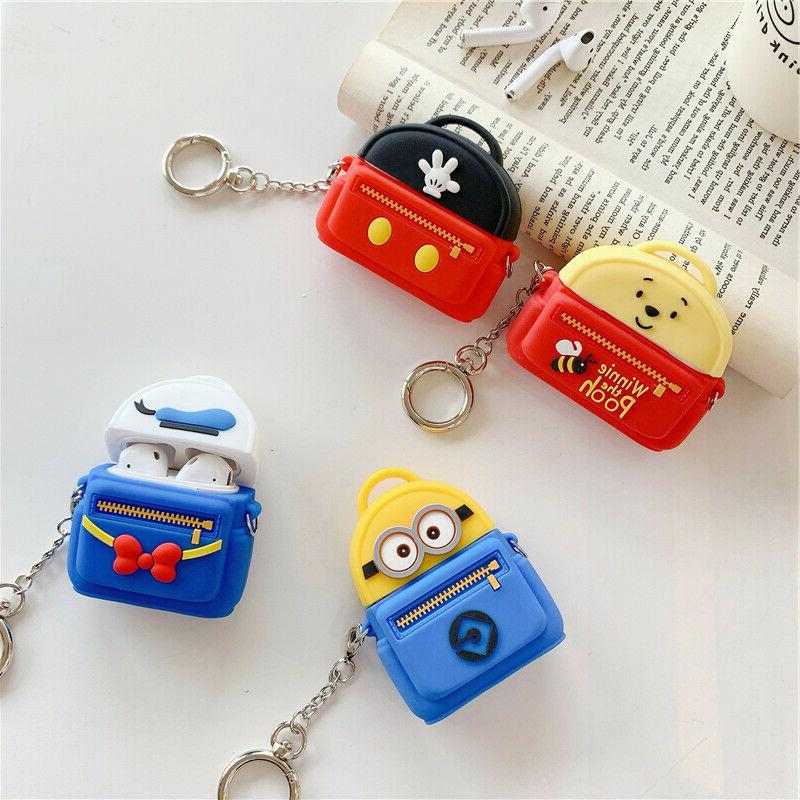 AirPods Cartoon Silicone Cover for Apple 1/2
