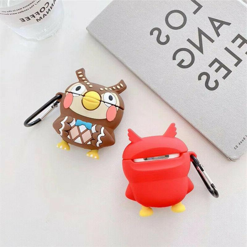 AirPods Cute Animal Cartoon Silicone Cover for Apple