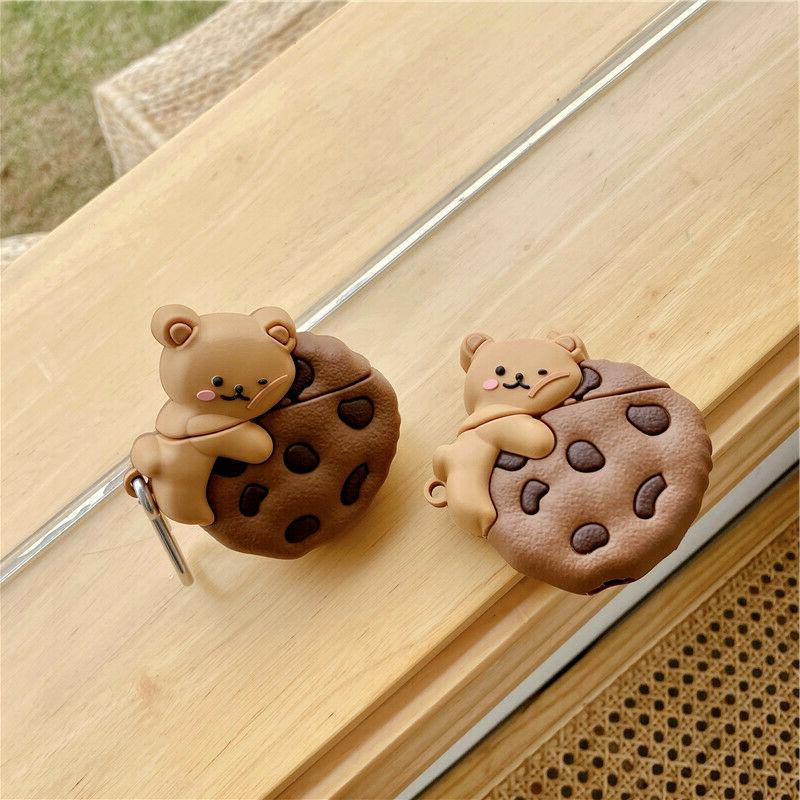 AirPods Cute Cartoon Silicone Cover for Apple 1/2