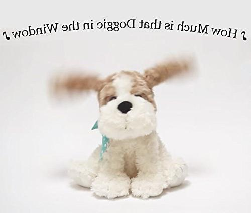 Cuddle Barn® Dog Singing Plush Toy, Soft Cuddly Flaps Ears to the Catchy How Doggie