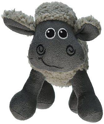 All for Paws  Assorted Animals Lamb Cuddle Toy for Dogs, 7-I