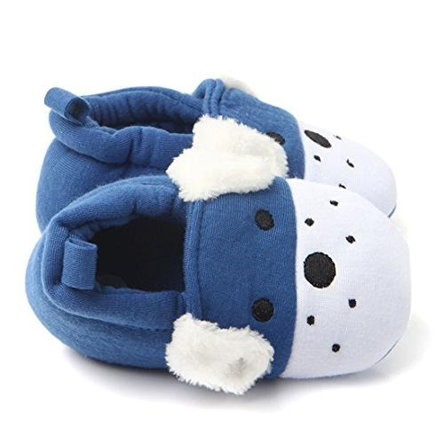 Tutoo Shoes Cotton Cute Slippers Crib , Dog)