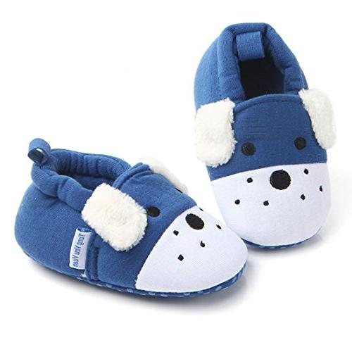 baby boys girls shoes cotton cute animals