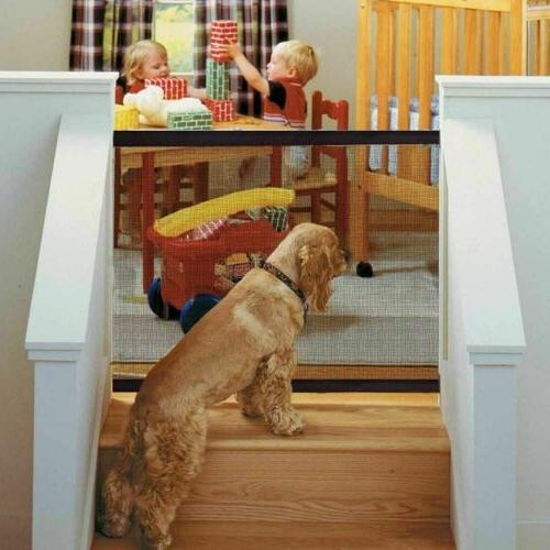 Baby Dog Cat Safety Fence Home Kitchen Net Guard Indoor