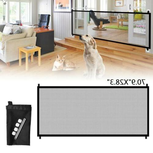 baby pets dog cat safety gate mesh
