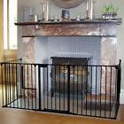 Baby Safety Gate Fireplace Fence Hearth Door Extra Wide Meta