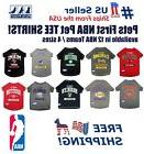 Basketball Pet Tee Shirts - NBA Licensed, Comfortable & Spor