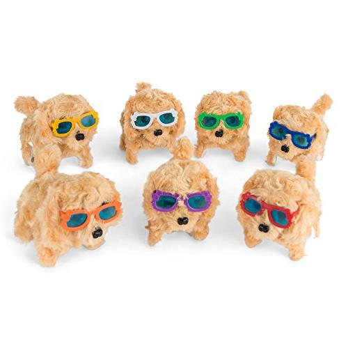 battery operated plush puppy toy