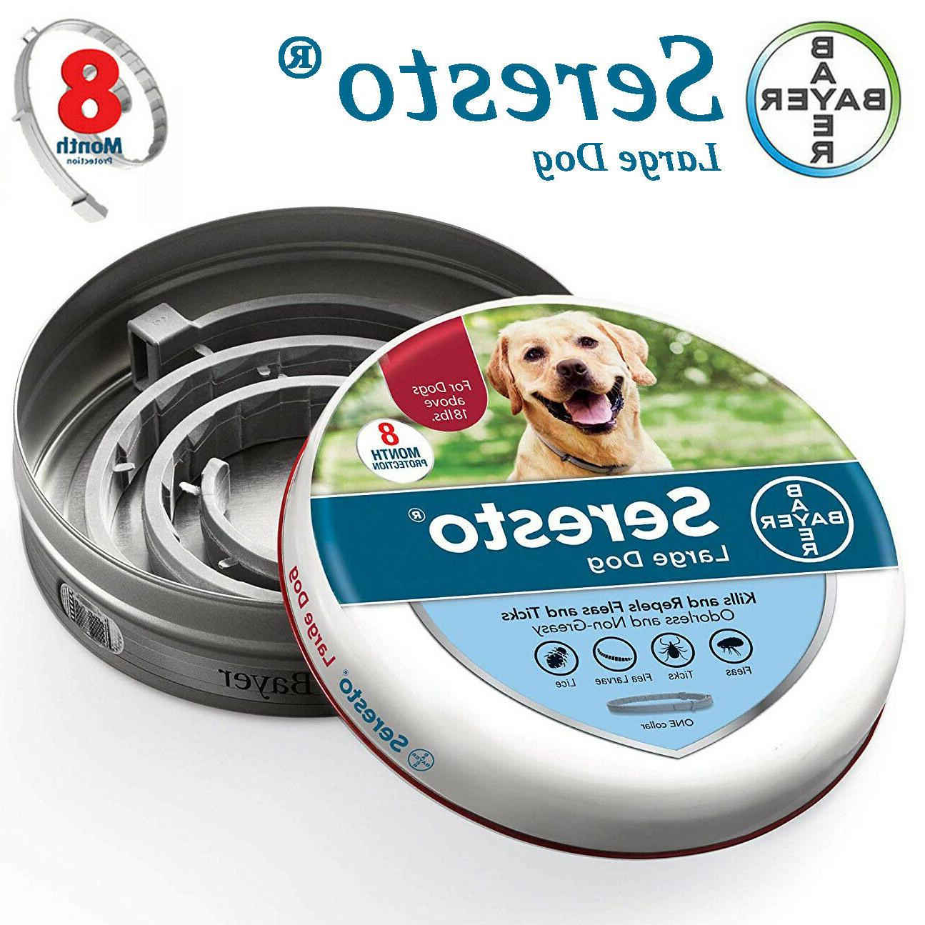 bayer flea and tick collar for large