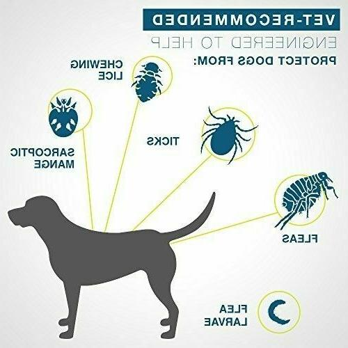 Large Dogs lbs and Tick Control