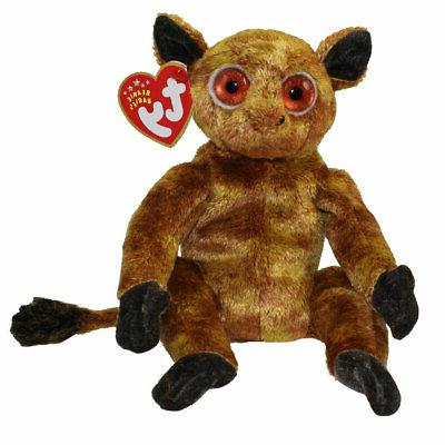 TY Beanie Baby - GIZMO the Lemur  - MWMTs Stuffed Animal Toy