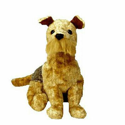 TY Beanie Baby - WHISKERS the Dog  - MWMTs Stuffed Animal To