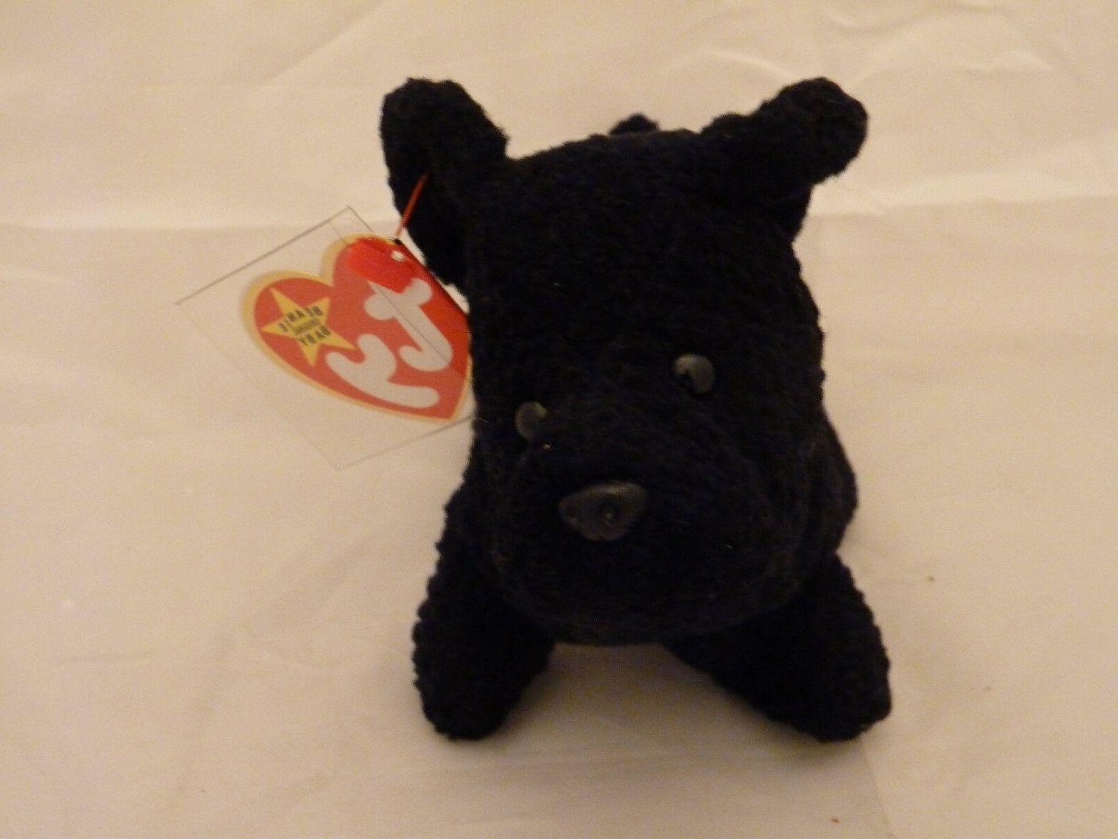 beanie babies black scottie pup