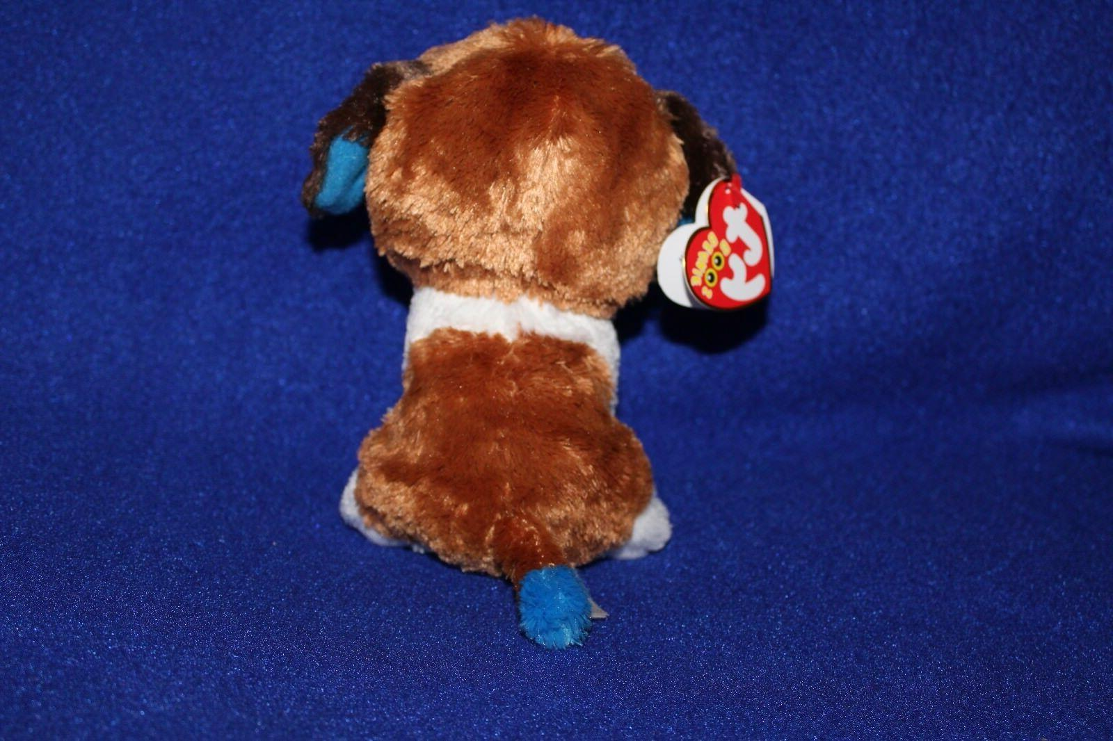 "TY Beanie Babies Boo's Duke Dog 6"" Collectible"