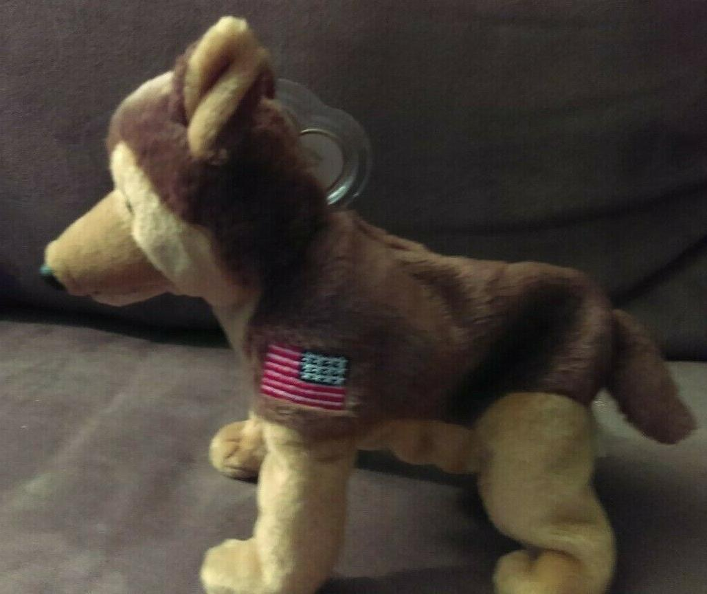 beanie baby courage nypd dog read description