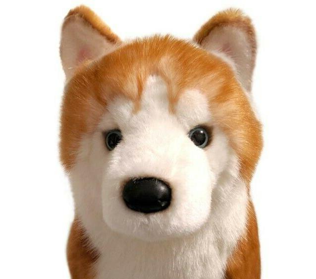 Limited Edition Red Husky Huskie Plush by