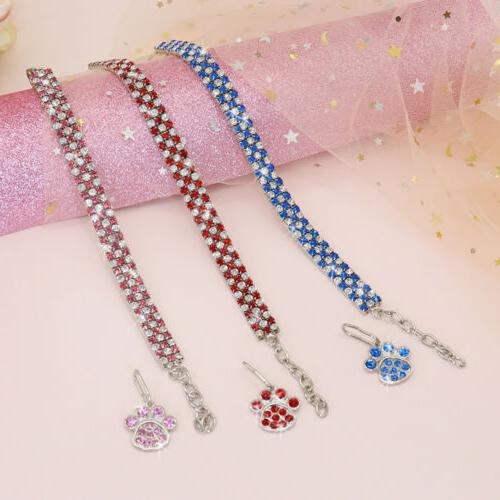 Bling Cat Dog Collar Puppy Kitty Necklace S/M/L