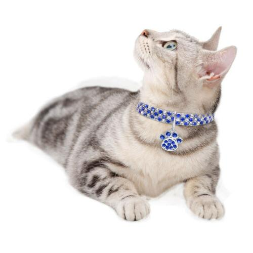 Bling Pet Collar Puppy Necklace With