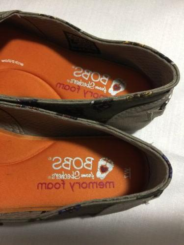 Bobs By Skechers FOR Flats Shoes 7