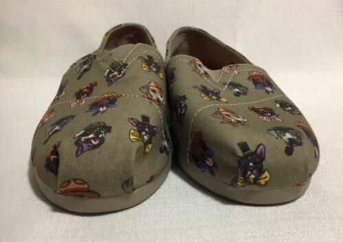 Bobs FOR DOGS Dogs with Hats Flats Shoes 7