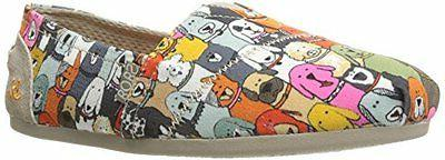 bobs from womens plush wag party flat