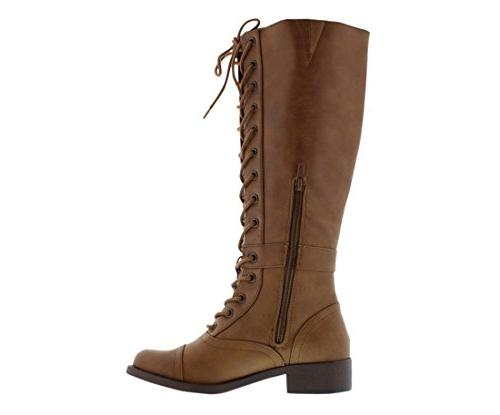 Rocket Stag Tall Boots 9 Nutmeg