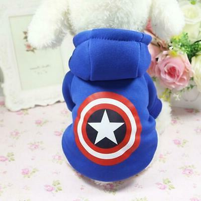 Cartoon Dog Clothes Winter Dog Coat for Small Dogs