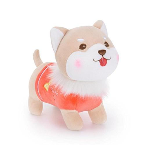 child kids toddler fluffy stuffed plush puppy