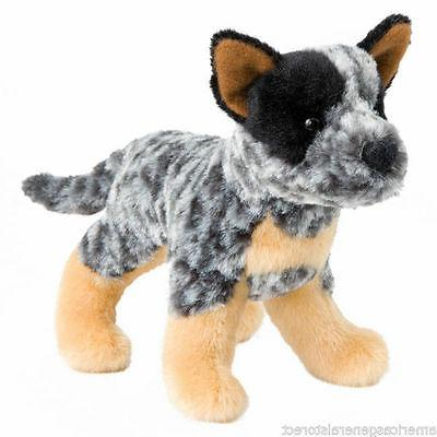 "CLANGER Douglas 7"" plush AUSTRALIAN CATTLE DOG stuffed anima"