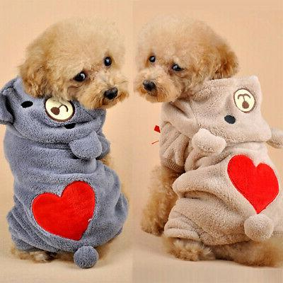 Cute Warm Pet Apparel