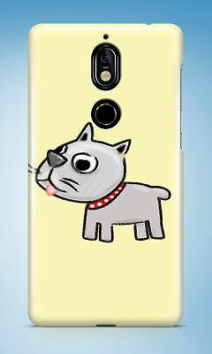 CUTE DOG PUPPY CANINE SKETCH ART HARD CASE COVER FOR NOKIA L