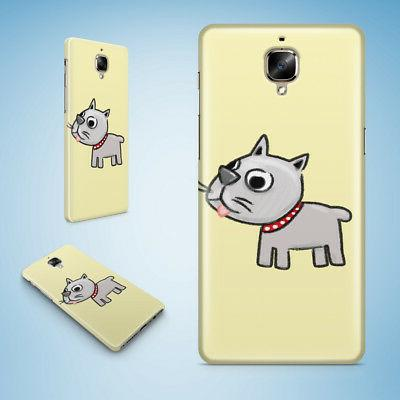 CUTE DOG PUPPY CANINE SKETCH ART HARD CASE COVER FOR ONEPLUS