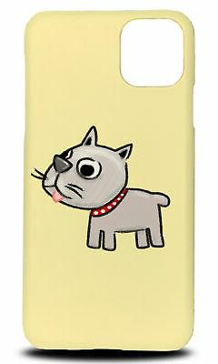 CUTE DOG PUPPY CANINE SKETCH ART HARD PHONE CASE FOR APPLE I