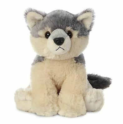 "Aurora Destination Nation WOLF 8"" Plush Stuffed Animal Toy N"
