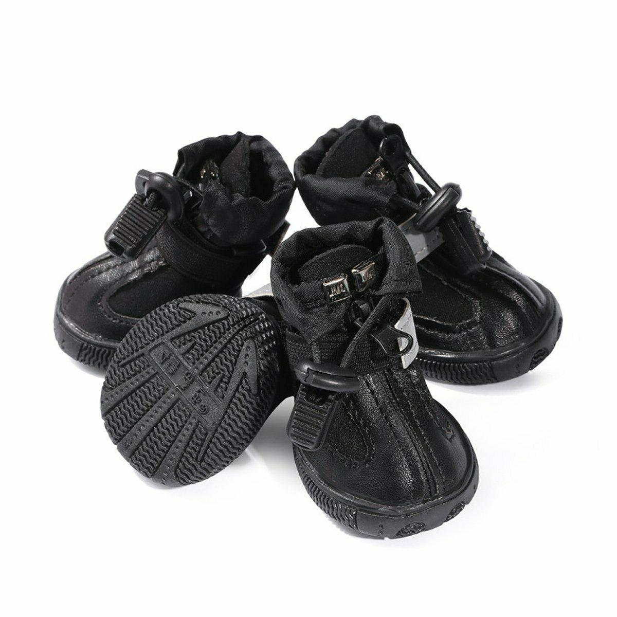dog boots waterproof shoes for medium to
